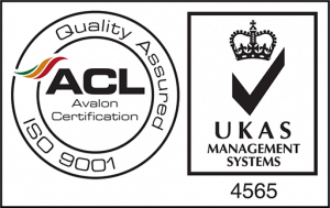 ISO 9001 UKAS logo. Jupiter IT. IT support Hull