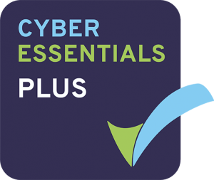 Cyber Essentials Plus Badge. Jupiter IT. IT support Hull