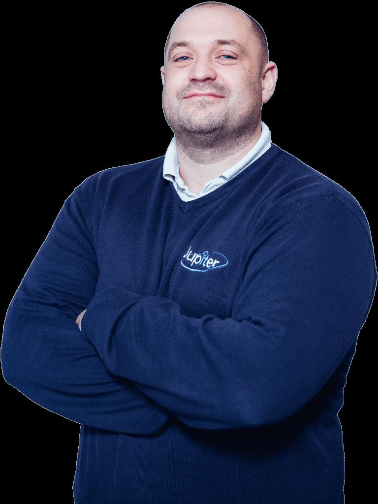 Team Member Iain Powell. Jupiter IT. IT support Hull