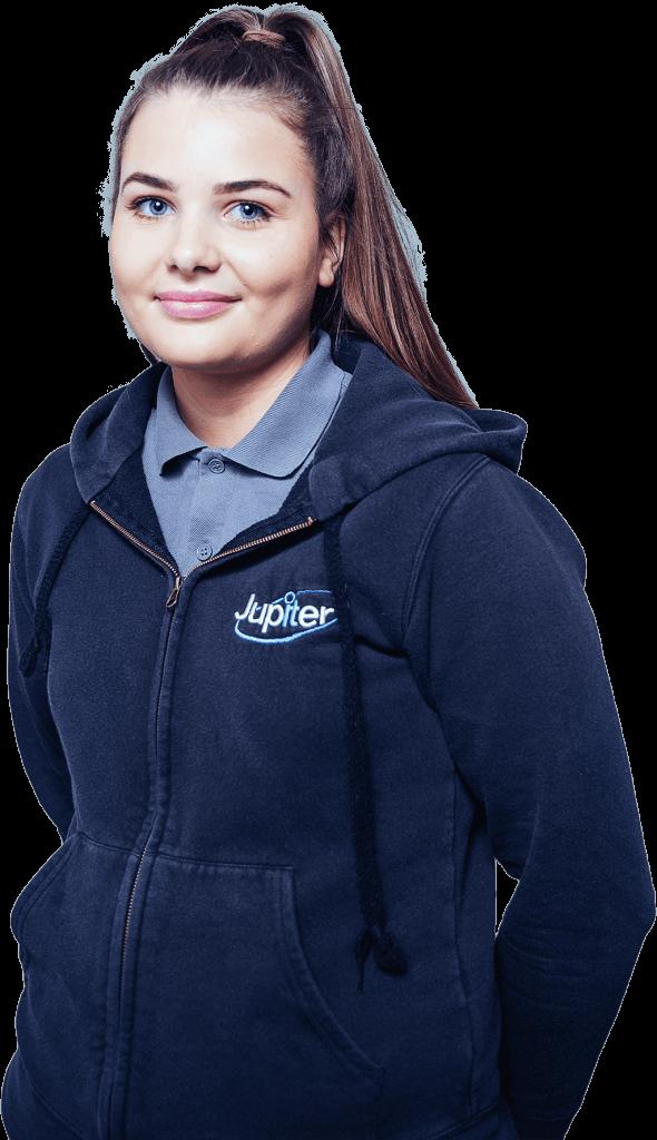 Team Member Lucy Levitt. Jupiter IT. IT support Hull