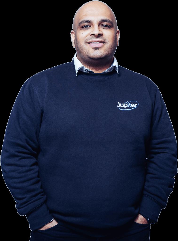 Team Member Ricky Amalsadia. Jupiter IT. IT support Hull
