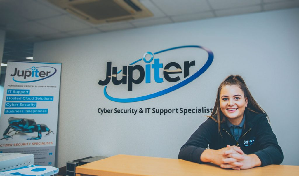 Customer support desk Jupiter IT. IT support Hull